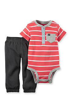 Carter's 2-Piece Striped Bodysuit and Pants Set