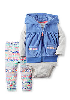 Carter's 3-Piece Little Vest Set