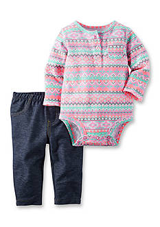Carter's 2-Piece Bodysuit & Jegging Set