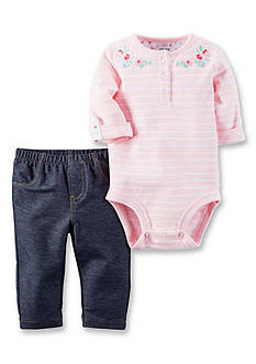 Carter's 2-Piece Bodysuit and Jegging Set