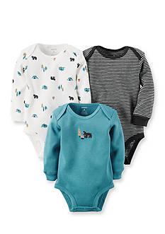 Carter's 3-Pack Wild Bodysuits