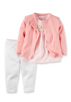 Carter's 3-Piece Cardigan, Pants, and Shirt Set