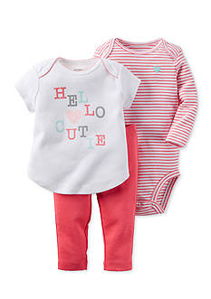 Carter's 3-Piece Bodysuit, Top, and Pants Set