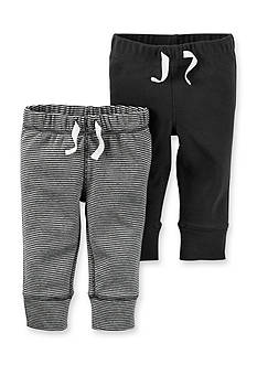 Carter's 2-Pack Solid & Stripe Pants