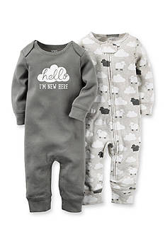 Carter's 2-Pack Cloud Coveralls