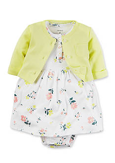 Carter's 2-Piece Dress and Cardigan Set
