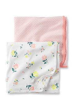 Carter's 2-Pack Floral Swaddle Blankets