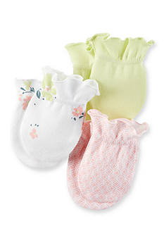 Carter's 3-Pack Floral Mittens
