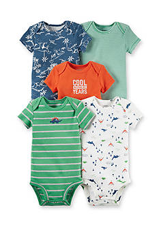Carter's 5-Pack Dino Bodysuits