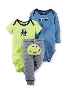 Carter's 3-Piece Monster Pant Set