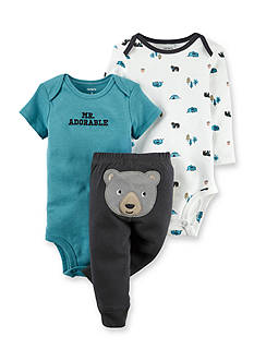 Carter's 3-Piece 'Mr. Adorable' Pants Set
