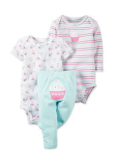 Carter's 3-Piece Cupcake Pants Set