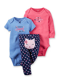 Carter's 3-Piece Cat Pant Set