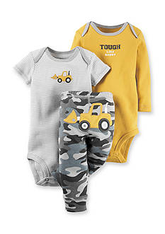 Carter's 3-Piece 'Tough Like Daddy' Bodysuit & Pants Set