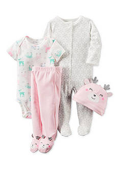 Carter's 4-Piece Babysoft Take-Me-Home Set