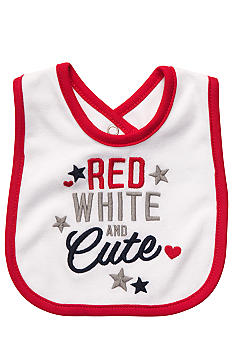 Carter's 'Red, White, and Cute' Bib