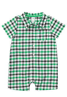 Carter's® Collared Gingham Romper