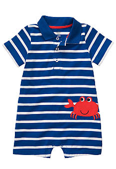 Carter's Crab Striped Romper
