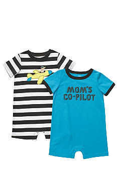 Carter's Mom's Co-Pilot Romper Set