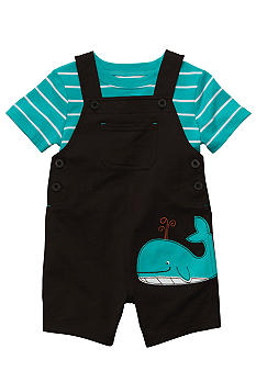 Carter's 2-Piece Whale Shortall Set