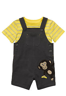 Carter's 2-Piece Monkey Shortall Set