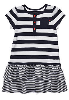 Carter's Stripe Dress Diaper Cover Set