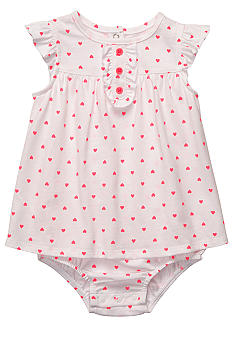 Carter's Heart Print Sunsuit