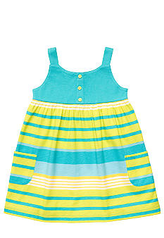 Carter's 2-Piece Turquoise Stripe Dress Set