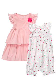 Carter's Tiered Dress Romper Set
