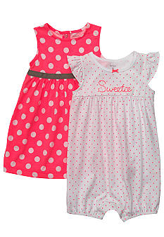 Carter's Sweetie Dress Romper Set