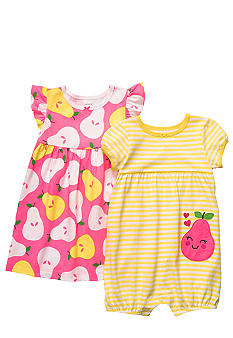 Carter's 2-Piece Pear Dress Romper Set