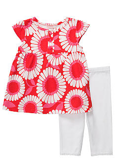 Carter's 2-Piece Graphic Floral Tunic & Legging Set