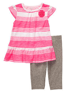 Carter's 2-Piece Striped Tunic & Legging Set