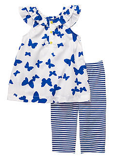 Carter's 2-Piece Butterfly Tunic & Legging Set