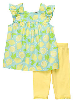 Carter's 2-Piece Lemon Capri Set