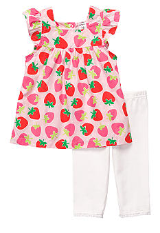 Carter's 2-Piece Strawberry Capri Set