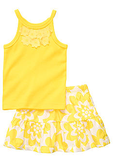 Carter's Lemon Skort Set