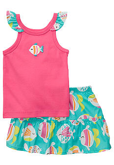 Carter's 2-Piece Fish Skort Set