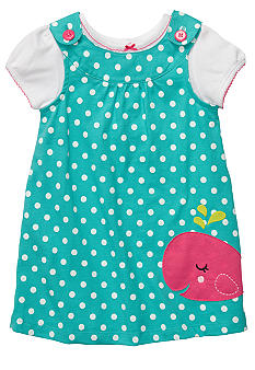 Carter's 2-Piece Whale Polka Dot Jumper
