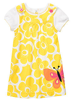 Carter's 2-Piece Floral Butterfly Dress Set