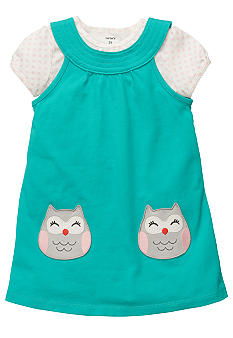 Carter's Owl Jumper Set