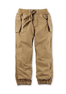 Carter's Infant Boy Khaki Lined Pants