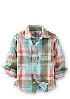 Carter's® Plaid Woven Shirt
