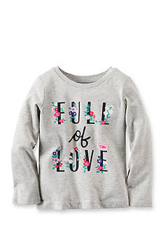 Carter's Long-Sleeve Full Of Love Graphic Tee