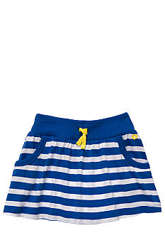Carter's Blue and White Striped Skirt