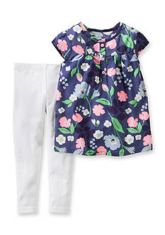 Carter's 2-Piece Floral Tunic Shirt and Pants Set