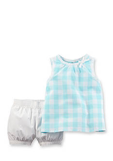 Carter's 2-Piece Plaid Short Set