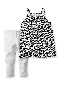 Carter's 2-Piece Print Top and Pant Set