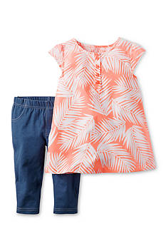 Carter's 2-Piece Leaf Top & Pant Set