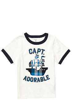 "Carter's® ""Captain Adorable"" Tee Toddler Boys"